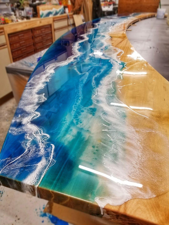 Crow Creek Designs Resin Countertops Resin Diy Epoxy Resin Wood