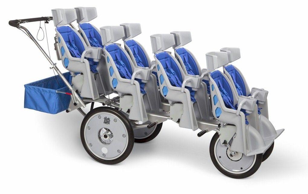 8 Seater Grandma Nursery Baby Strollers Quad
