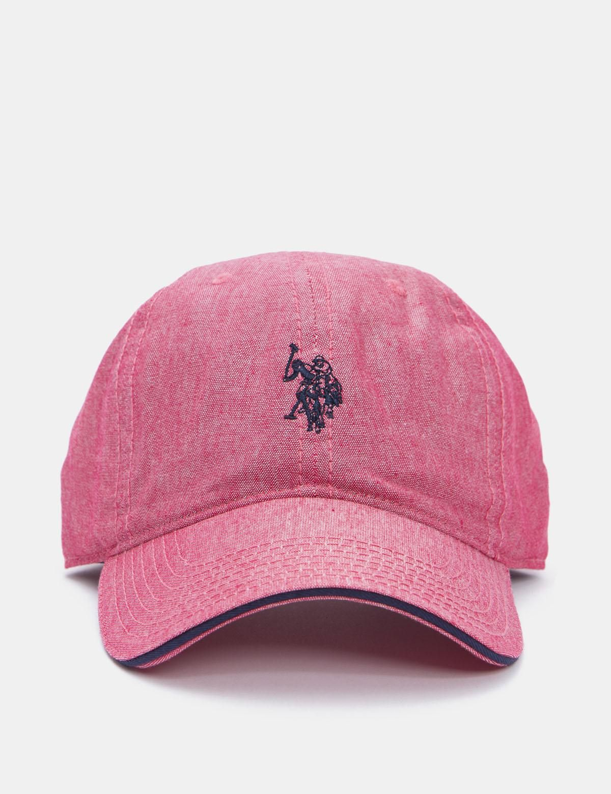 f91cb17b2389  mothersday  AdoreWe  US Polo Association Mens - US Polo Association U.S.  Polo Assn. Lightweight Baseball Hat Red - AdoreWe.com