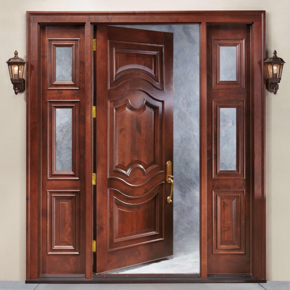 50 ideas únicas y modernas de diseño de puerta principal de madera clásica - Engineering Discove ...