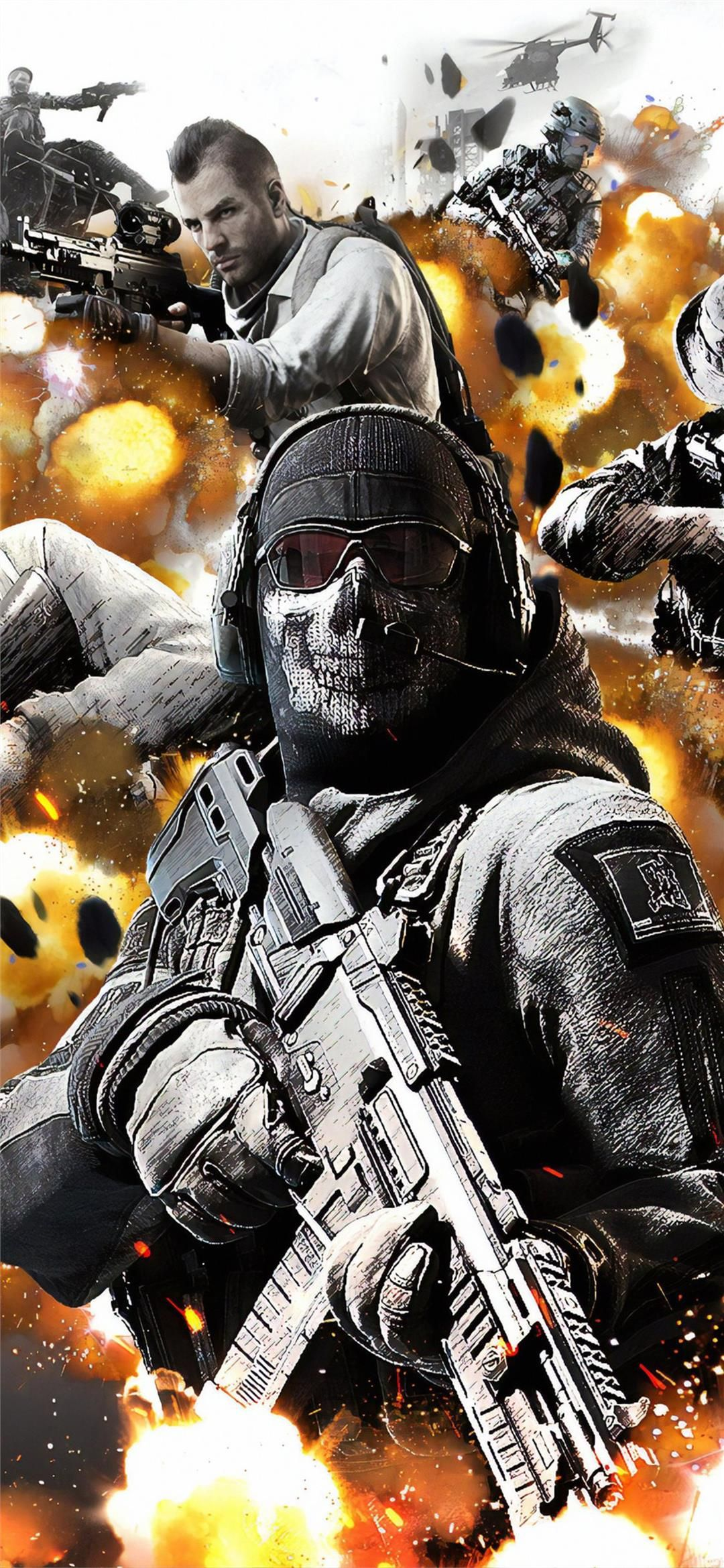 Call Of Duty Mobile 4k Android Phone Wallpaper Download