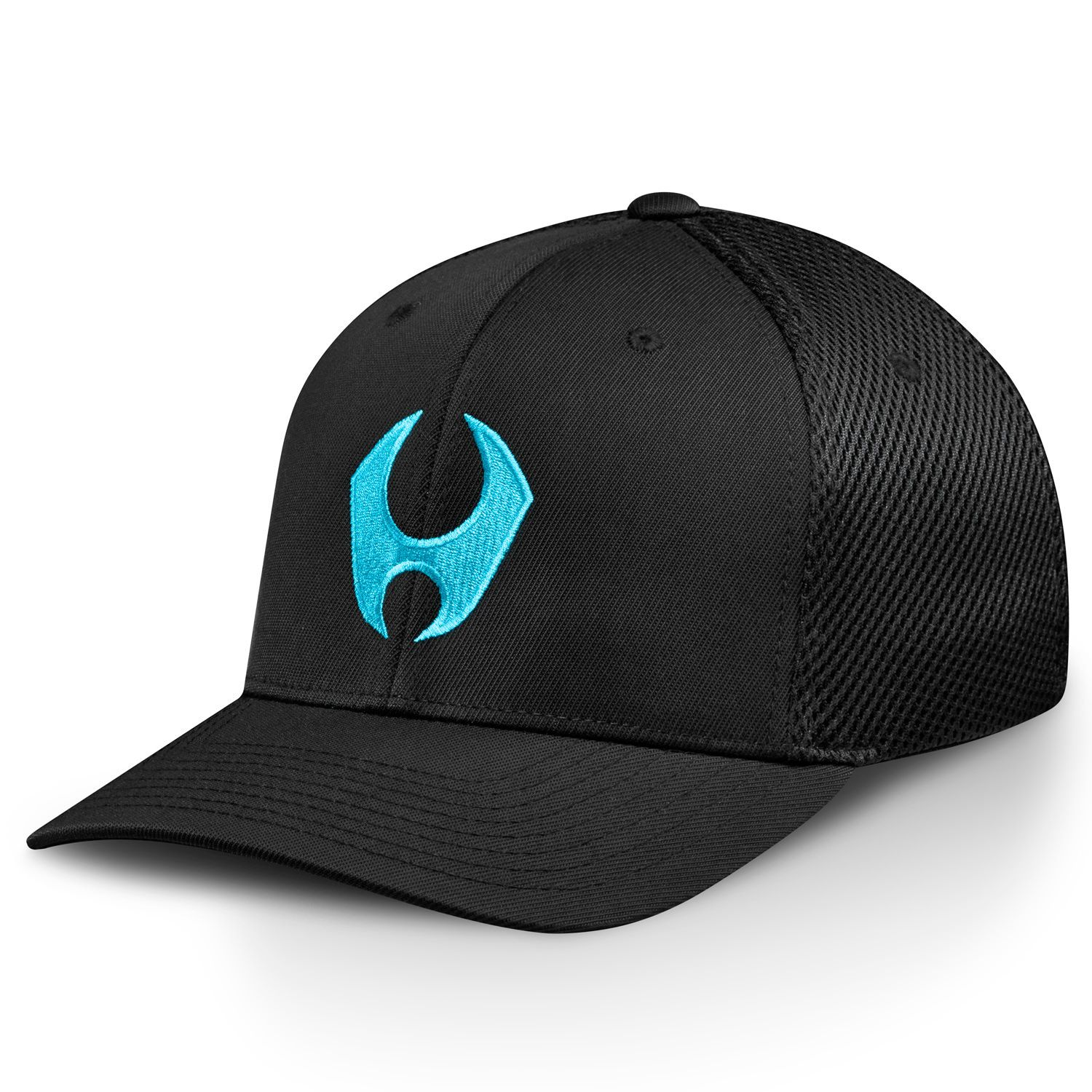 HYLETE icon flexfit cap black/electric blue Hats for