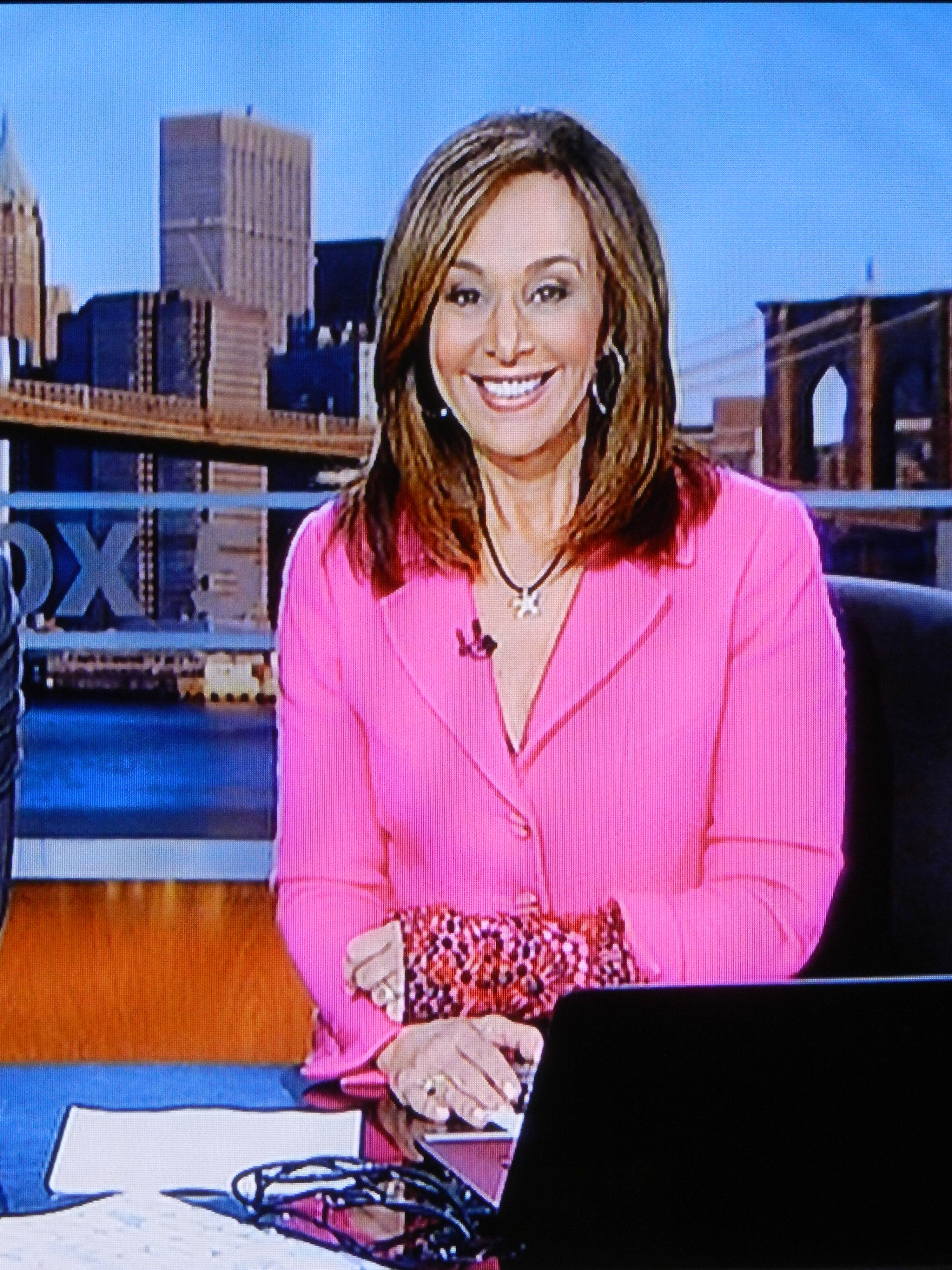 Cast Cover Fashions - Fox5 'Good Day NY' anchor Rosanna