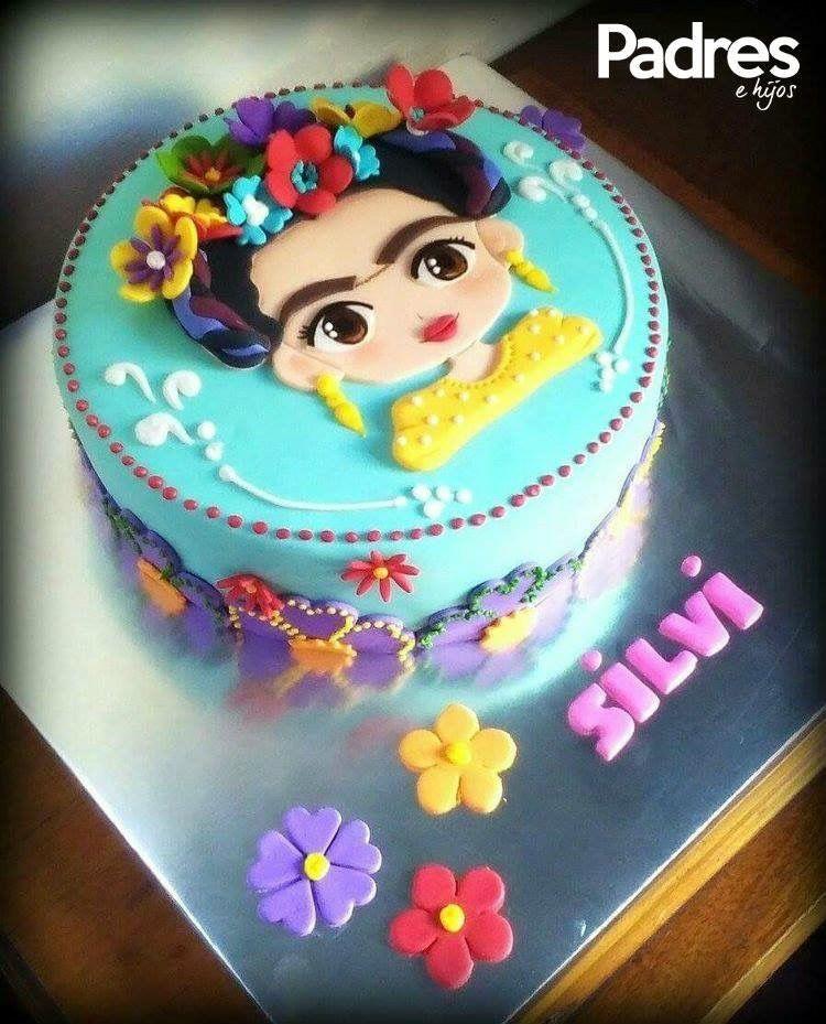 Silvi Frida Kahlo Cake Close Enough To Mi Actual Name I