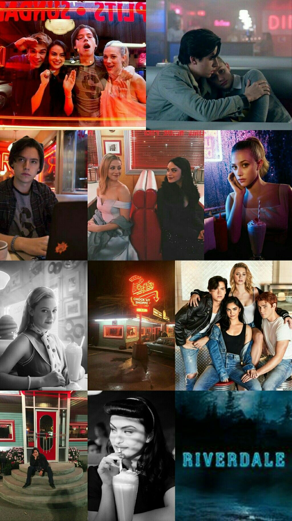 Riverdale | Wallpaper | Betty | jughead | archi | Veronica | | CW TV Shows | Riverdale wallpaper ...