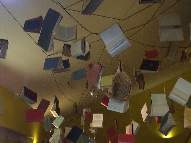 its raining books! by torpedo hamster, via Flickr