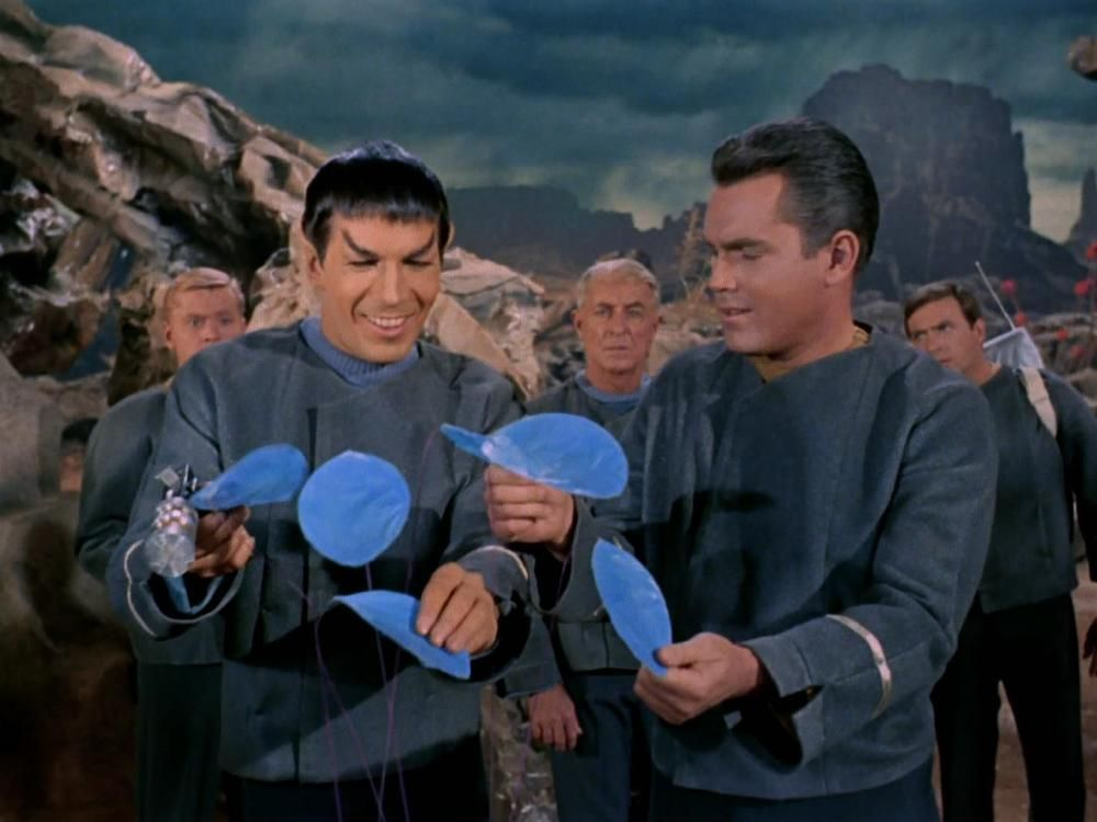 spock, pike and exobotanics