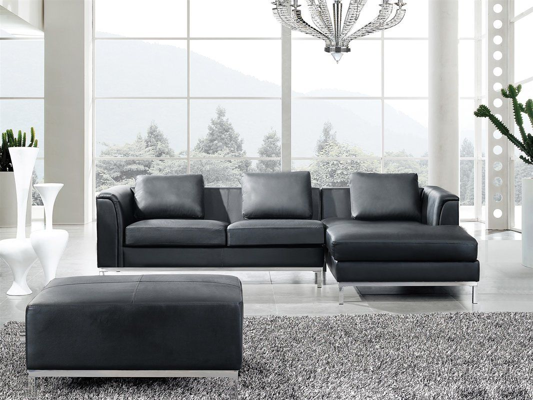 Tremendous Tachani Leather Sectional In 2019 Deerfield Leather Ibusinesslaw Wood Chair Design Ideas Ibusinesslaworg