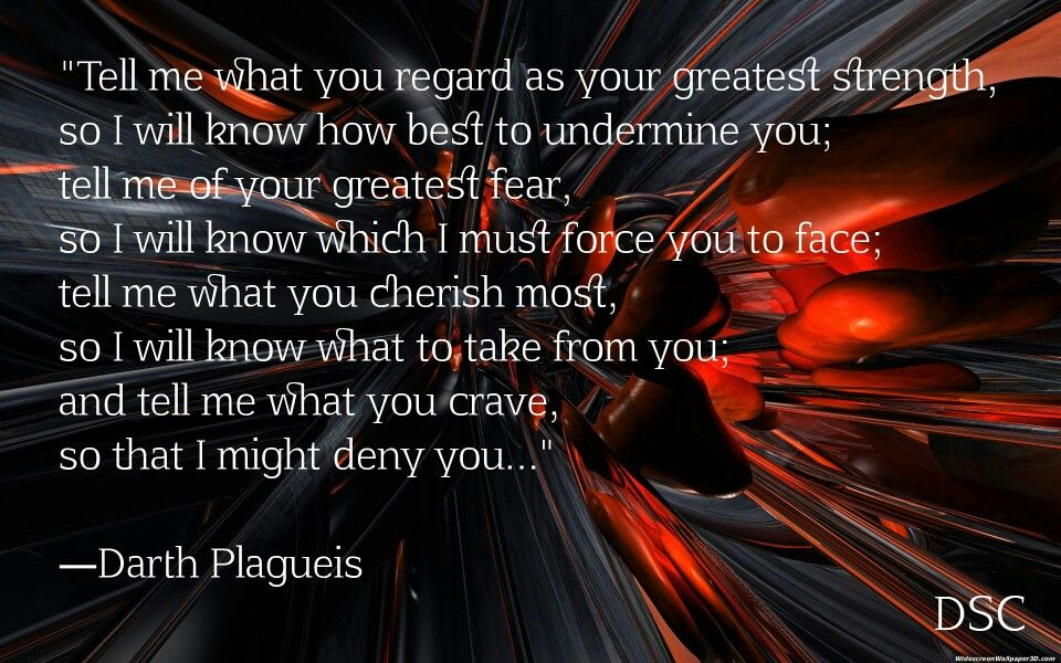 Darth Plagueis The Muun Master Of Sidious