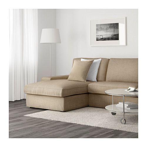 KIVIK Sectional 3-seat - Isunda beige - IKEA  sc 1 st  Pinterest : kivik sectional - Sectionals, Sofas & Couches