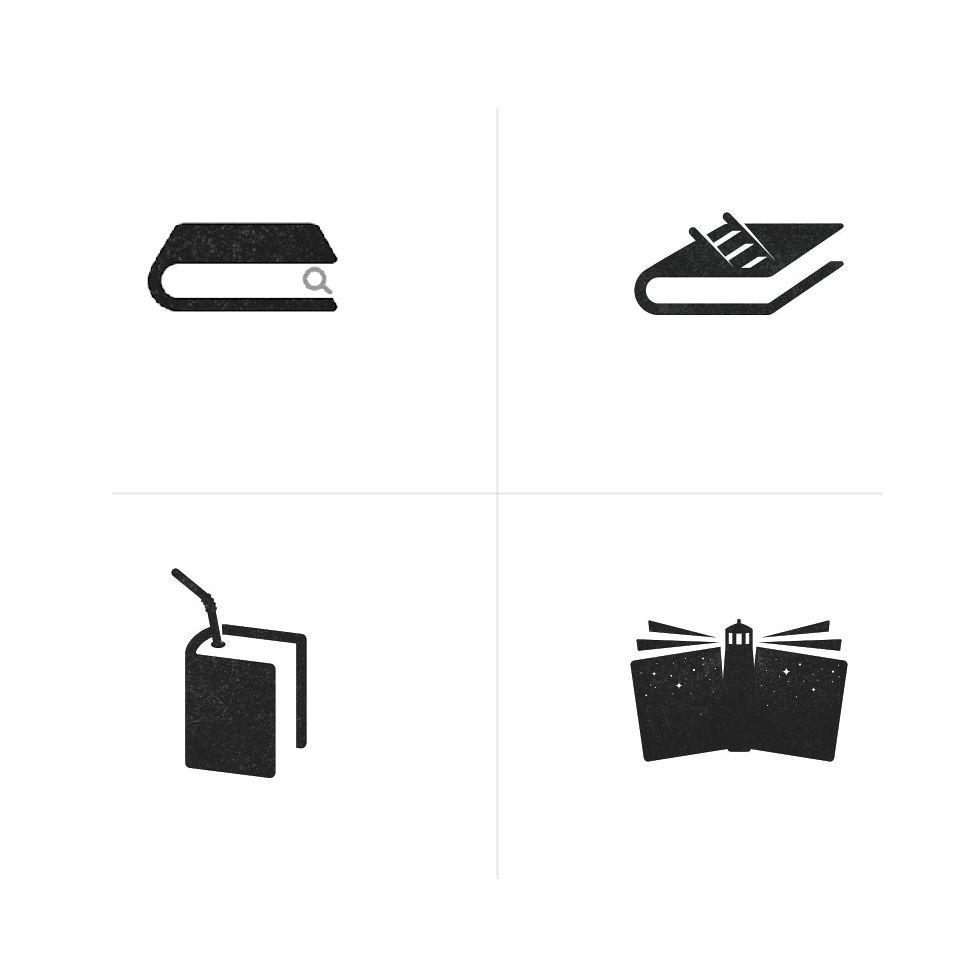 Book Minimal Logo Concept Best Creative Graphic Design Top Branding Inspiration Ideas By Brazhn Book Logo Website Design Inspiration Creative Graphic Design