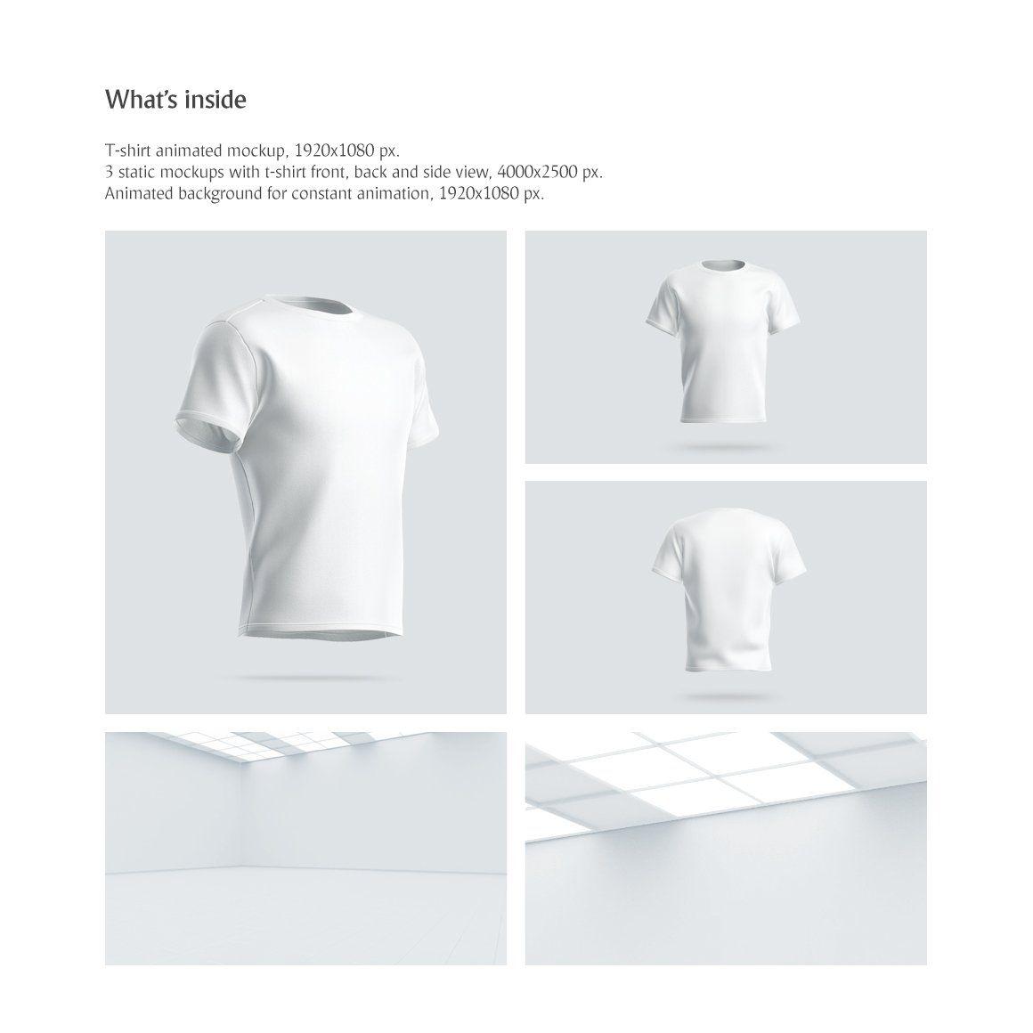 Download T Shirt Animated Mockup Ide Kostum Kostum