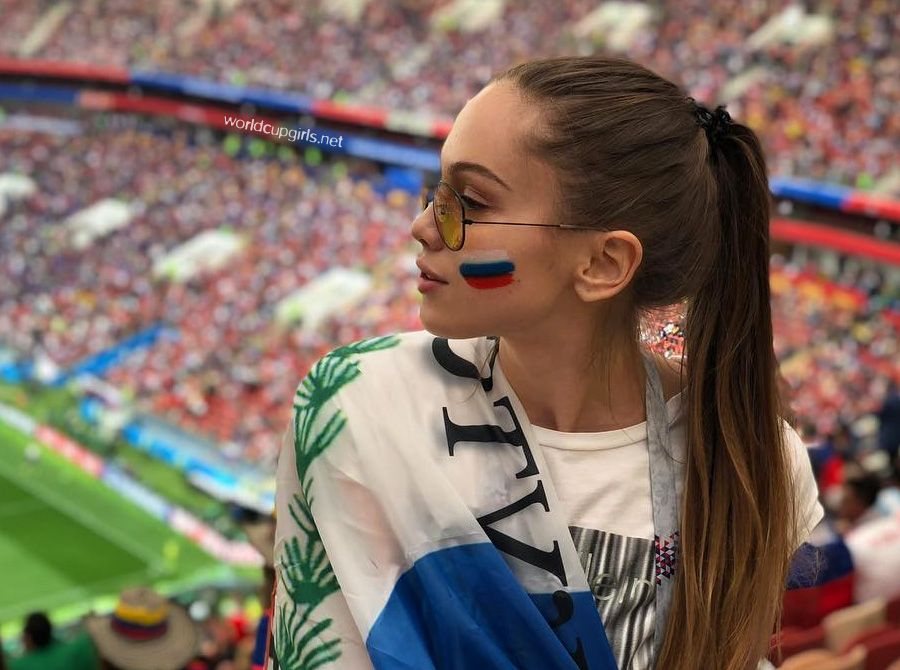 ee96e8d56a5 100 Photos of Hot Female Fans In FIFA World Cup 2018