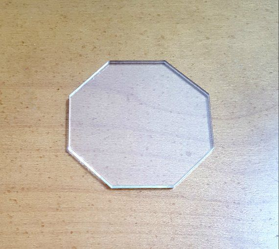 6.5 Choice of Size Acrylic Octagon Quilt Template