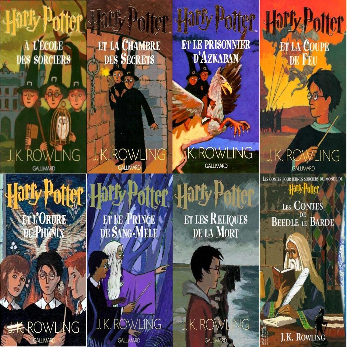 Toute La Serie D Une Saga Magique Et A Lire Absolument