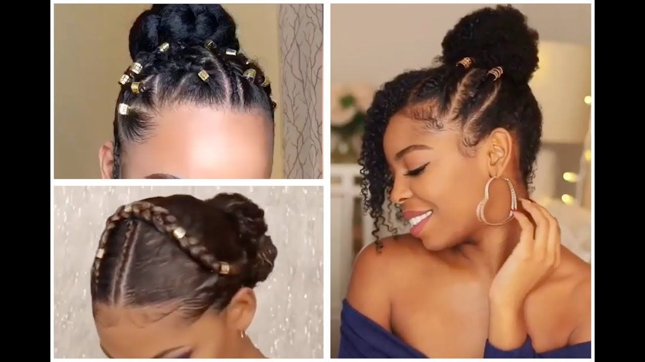 Not Your Ordinary Bun Beautiful Bun Hairstyles For Black Women Youtube High Bun Hairstyles Bun Hairstyles Black Women Hairstyles