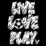 Live Love Play (Soccer Ball) by Mychristianshirts on Etsy
