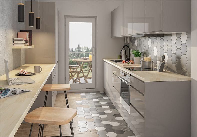 Okap Kuchenny Zabudowany W Szafce Home Decor House Design Kitchen