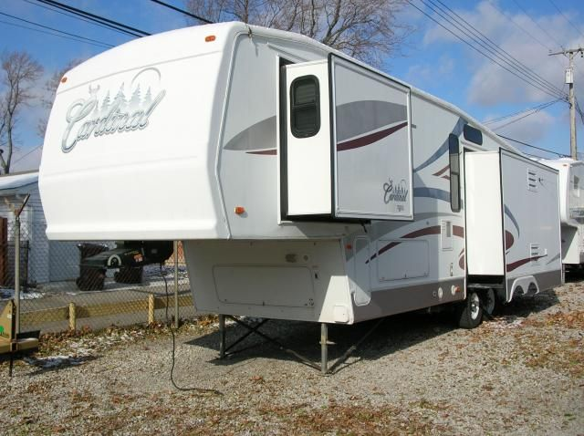 2004 Cardinal 35ck Fifth Wheel By Forest River Forest River Fifth Wheel Cardinal