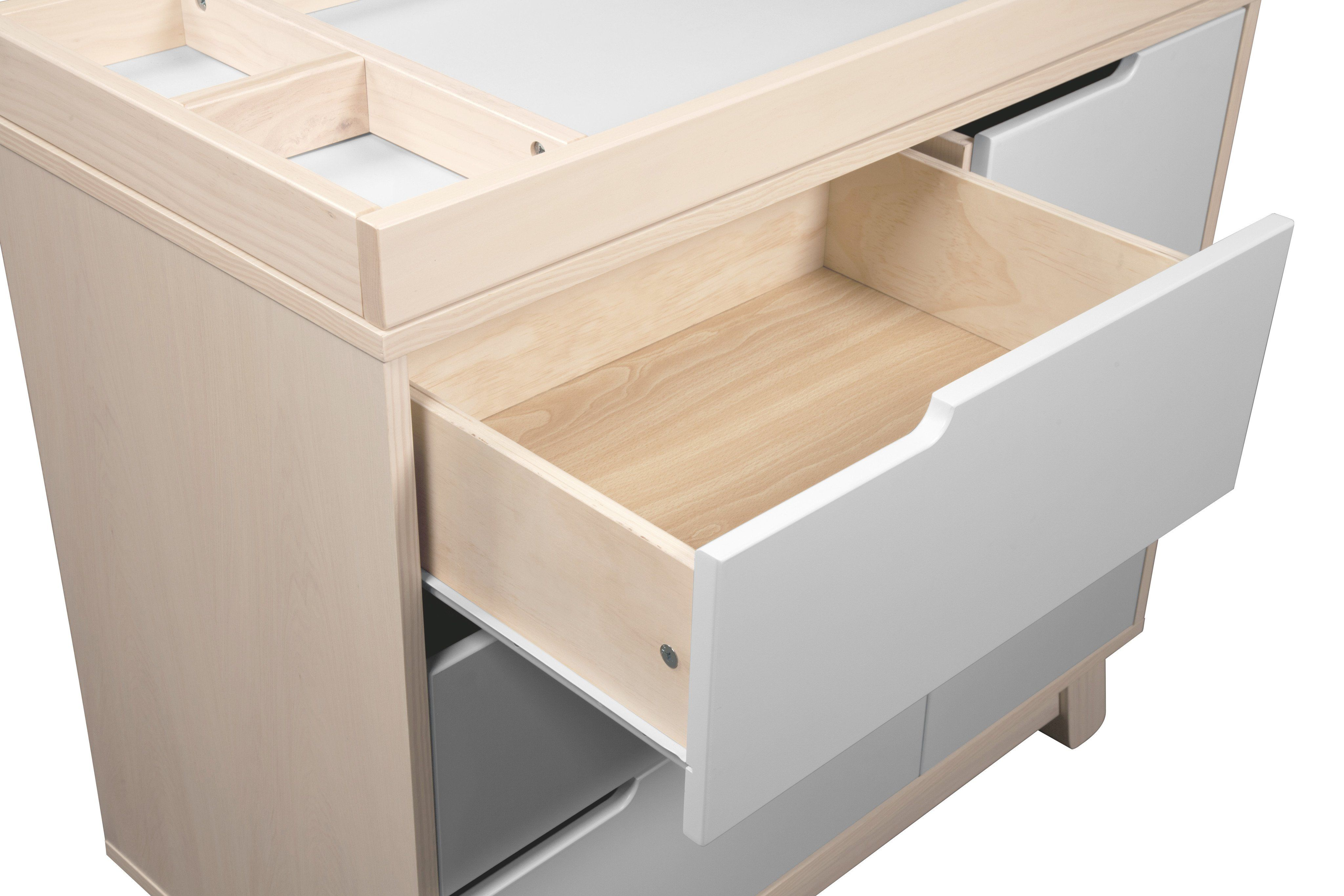 Hudson 3-Drawer Changer Dresser with Removable Changing ...