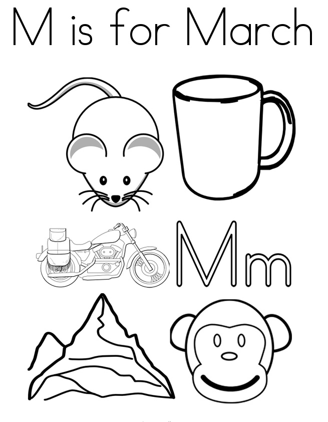 Free Printable March Coloring Pages Free Printable March Coloring Pages Toddler Kindergarten To P Free Coloring Pages Coloring Pages Coloring Pages To Print