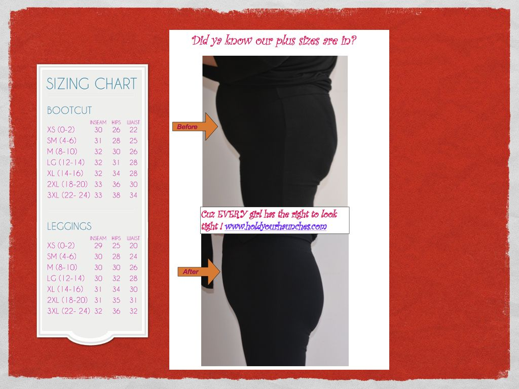 58eb3c2284d Another before and after. Plus sizes in stock! Hold Your Haunches ...