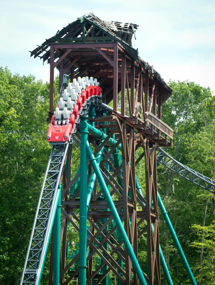 Roller coaster verbolten at busch gardens williamsburg - Busch gardens williamsburg rides ...