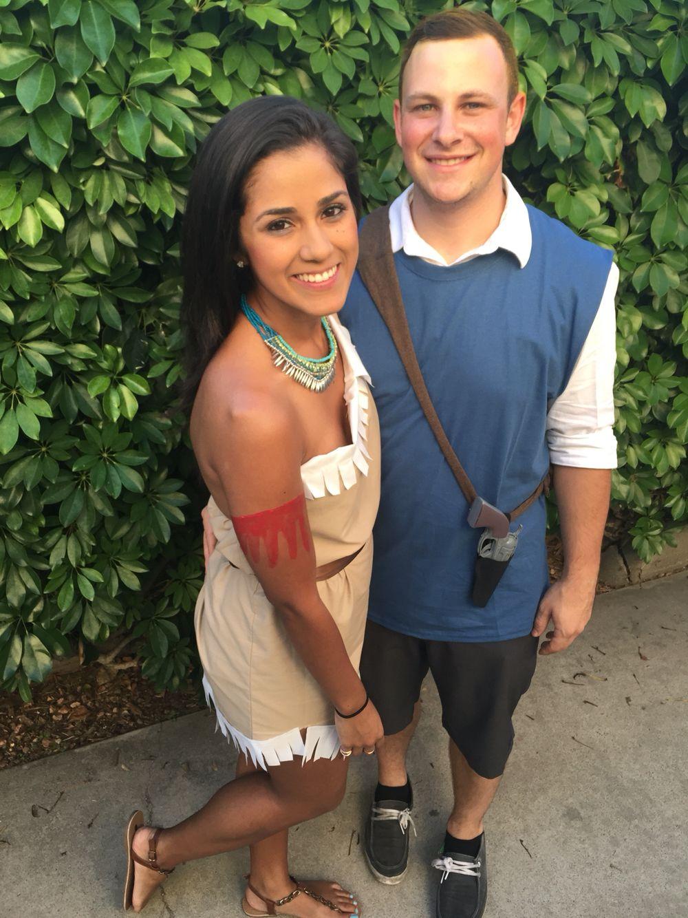 pocahontas and john smith costume