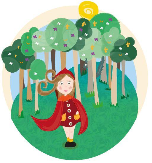 Ilustracion Caperucita Roja On Behance Little Red Riding Hood Red Riding Hood Little Red