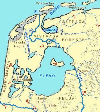 Nederland in vroege Middeleeuwen