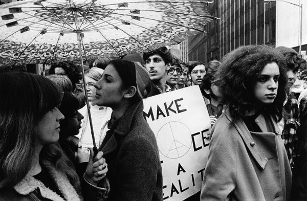 Irwin Klein Peace Demonstration 41st St And 6th Ave New York City 1964 1969 Photo Exhibit City C Historical Events