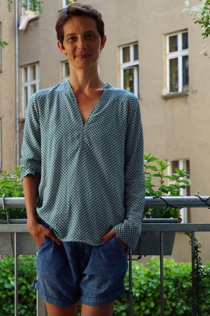 Blusen Schnittmuster - Inspiration für den Blusen-Sew-Along   Bluse ...