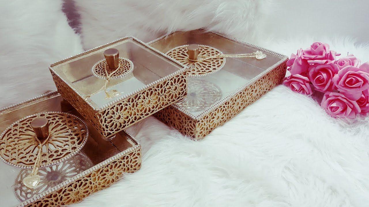 مشروع مرباح ربات البيوت اصنعي بنفسك علب تقديم الحلويات او صواني التقدي Artesanato Amai