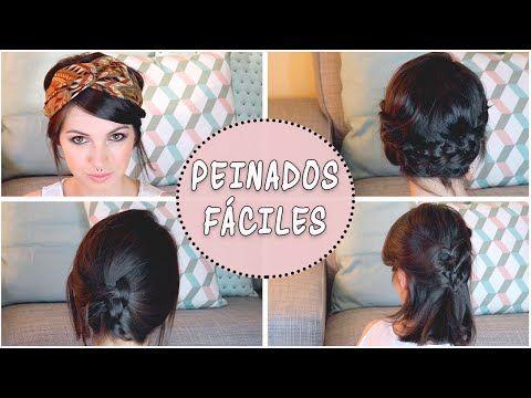 Peinados Faciles Para Cabello Corto Peinados Para Bonitos Para