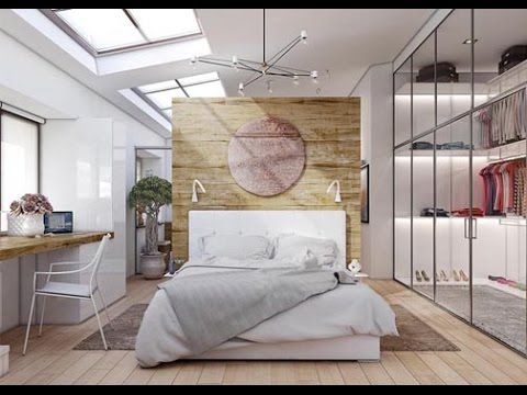 Beautiful examples of bedrooms with attached wardrobes