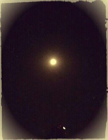 Buenos días, hermosa Luna