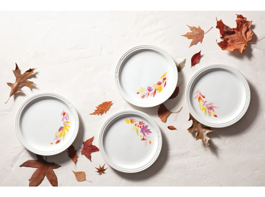 The Charming Hues Of The Le Creuset Autumn Collection Add The Perfect Touch Of Autumn To The Dinner Table Crafted For Peop Dinner Table Creuset Keep Food Warm