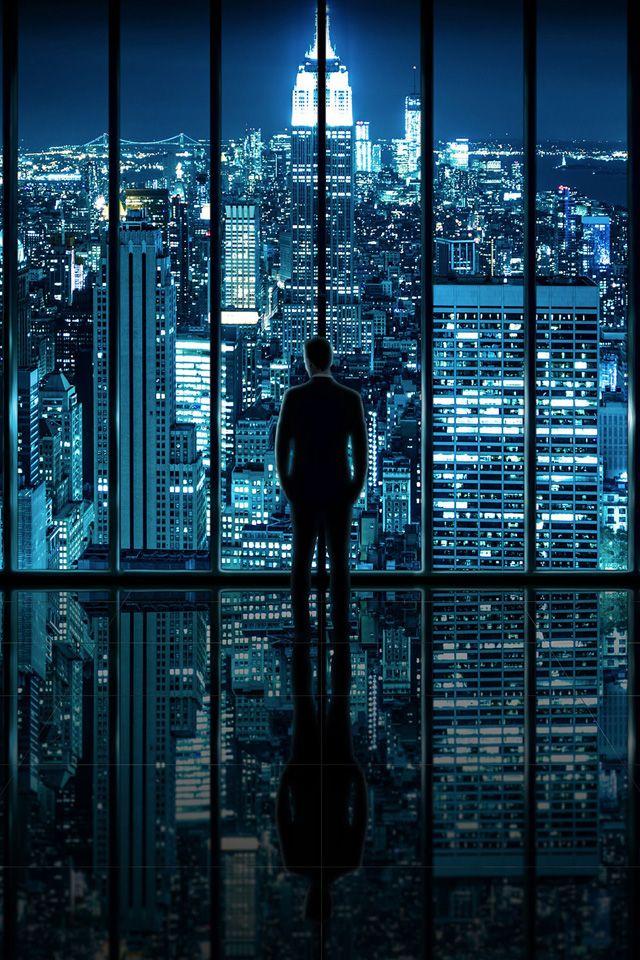 Nyc At Night Iphone Wallpaper Nyc Newyork Skyline