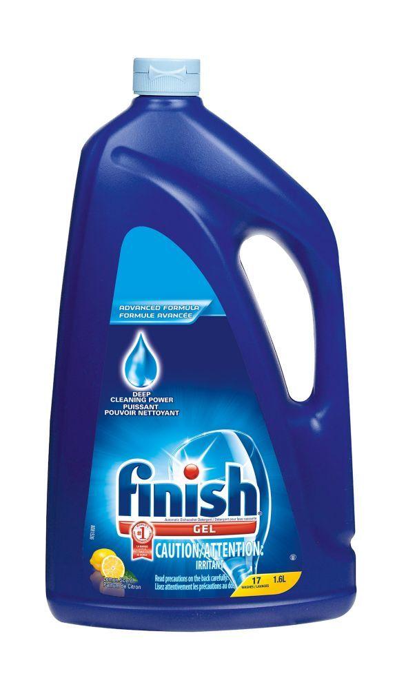 2 N1 Gel Dish Det Lemon Dishwasher Detergent Finish Dishwasher Detergent Gel Dishwasher Detergent