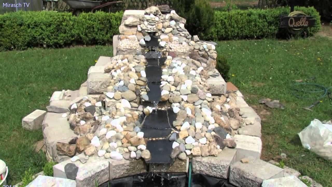 Gartengestaltung Ideen Kleine Wasserfall Im Garten Bauen Video 3 Wasserfall Garten Gartengestaltung Ideen Gartengestaltung
