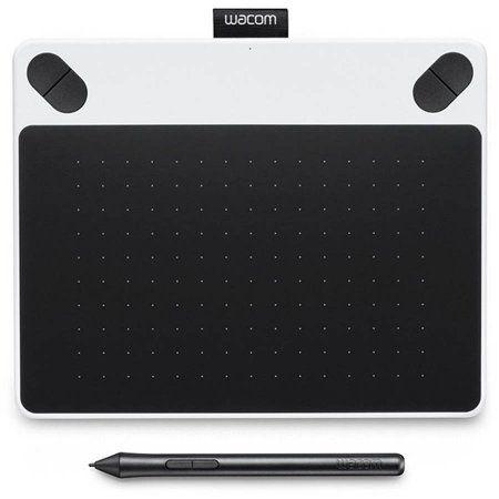 free shipping buy wacom intuos draw pen tablet small white at