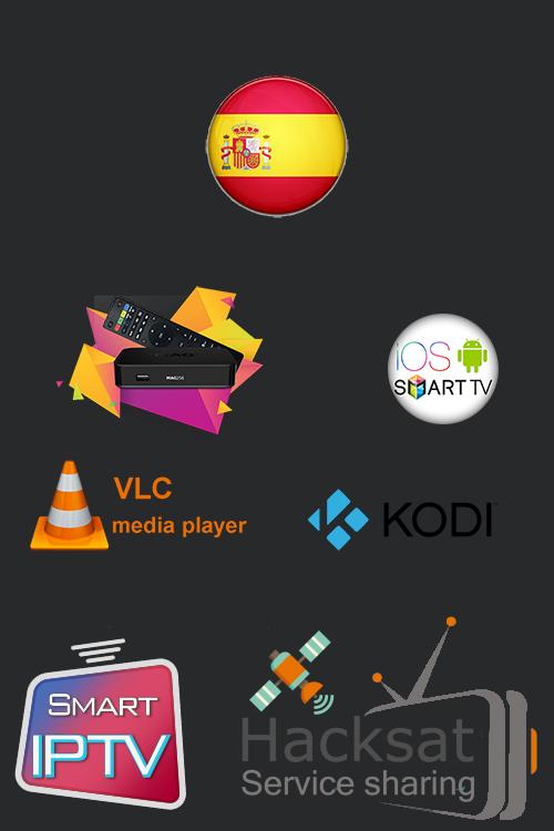 español iptv, descargue gratis iptv playlist spain, con