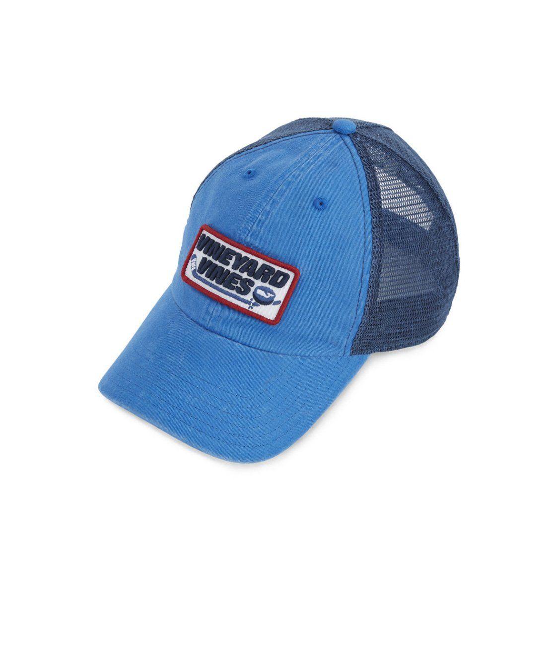 09b06418d90 Hockey Patch Trucker Hat | new arrivals | Hats, Hats for men, Men