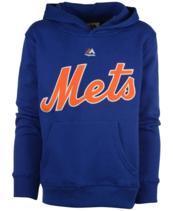 hot sale online a13a3 e97e1 Majestic Mlb Worldmark New York Mets Fleece Hoodie, Little ...