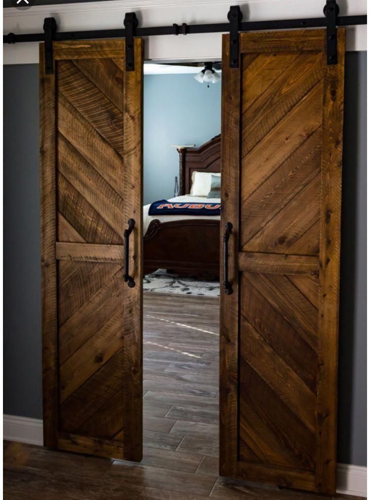 Rustic Interior Doors 32 Inch Barn Door Hanging Barn Door Track 20190403 Wood Doors Interior Barn Doors Sliding Sliding Barn Door Hardware