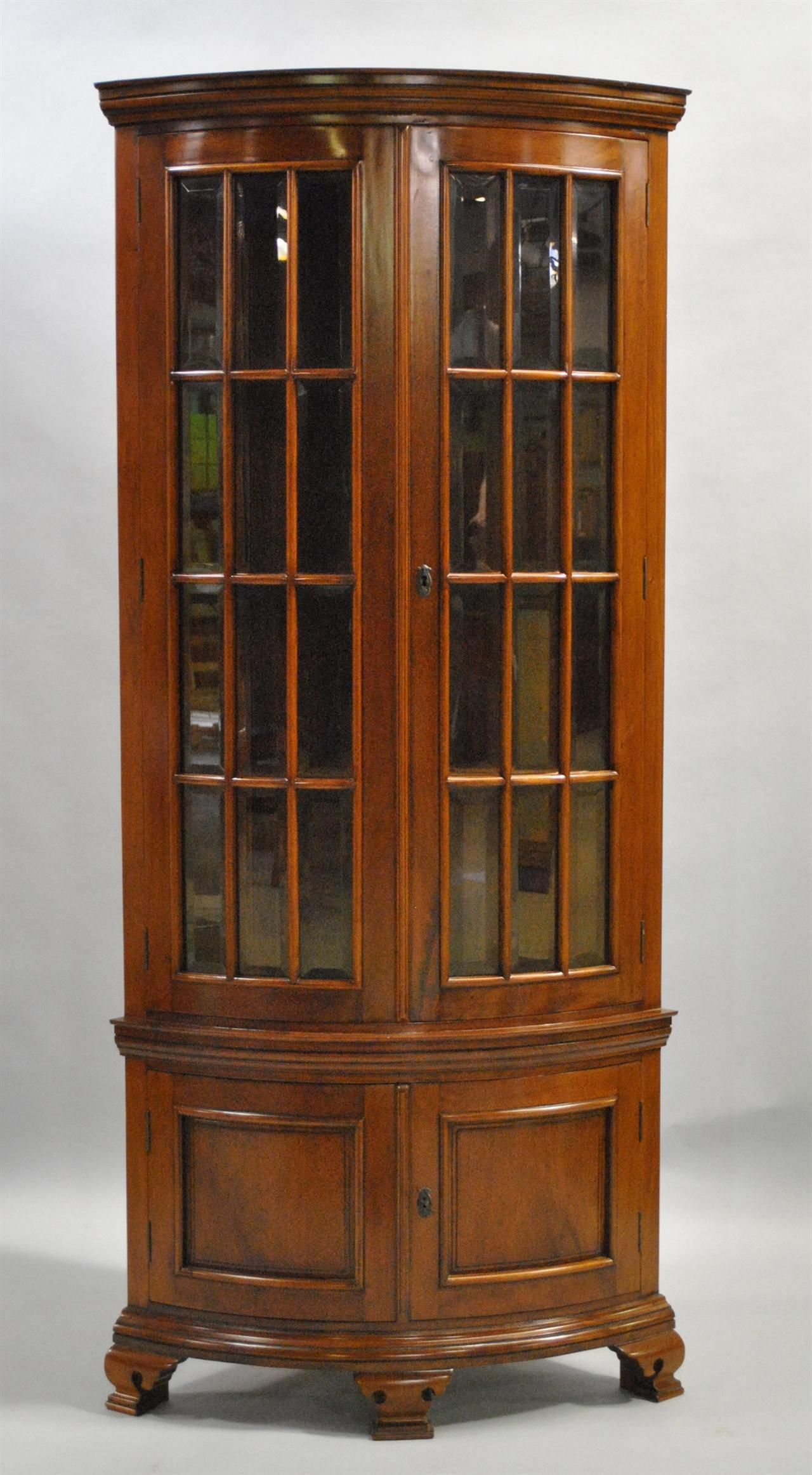 Fantastic Mahogany Corner China Cabinet For The Home Family Download Free Architecture Designs Barepgrimeyleaguecom
