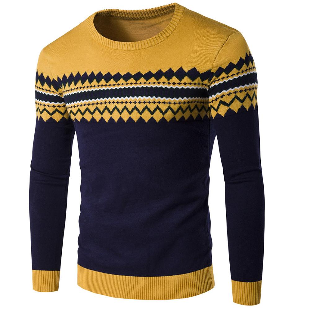 Otoño para hombre Sweaters para 2019 Suéter nuevo hombre D9HI2WE
