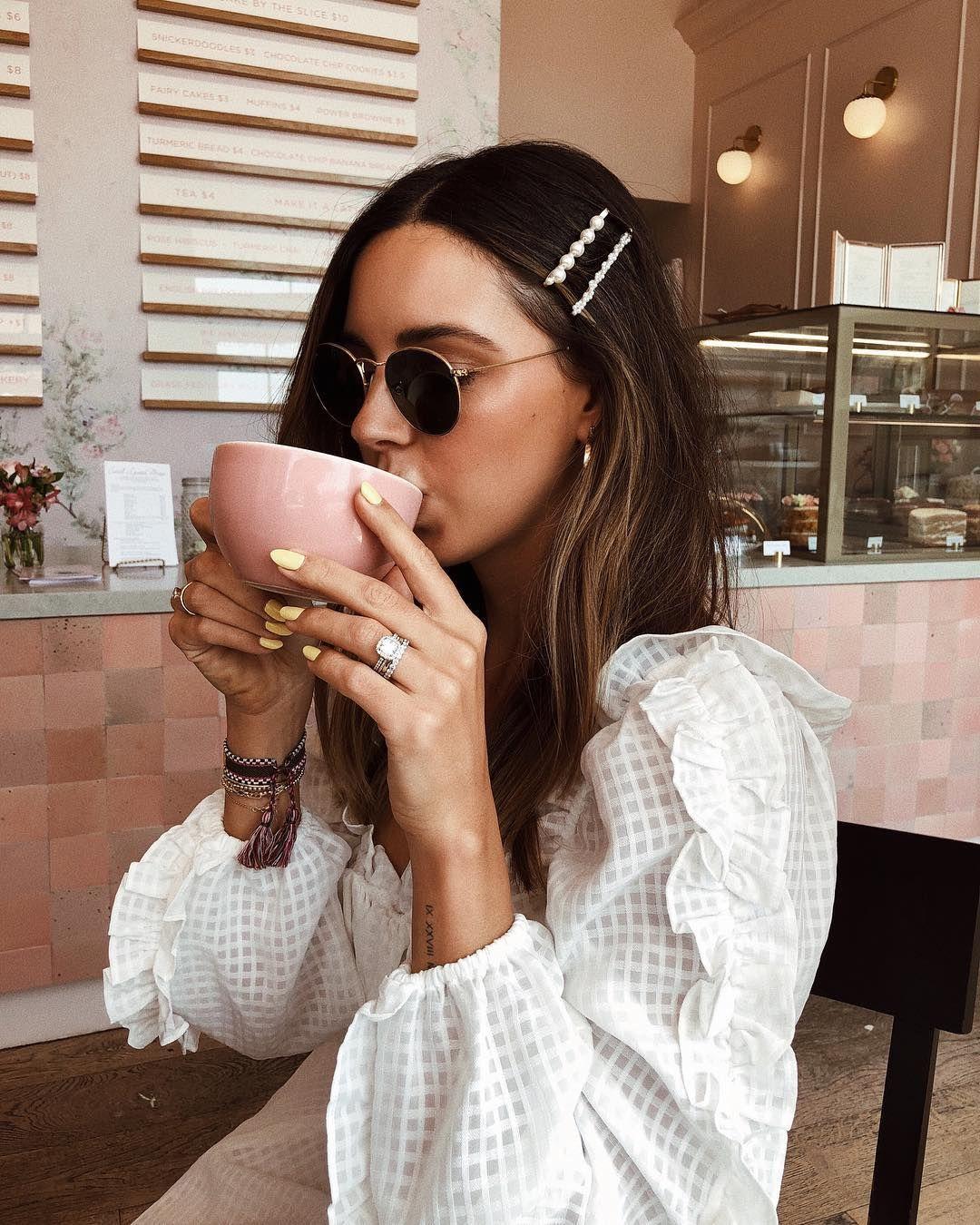 """Sivan Ayla Richards on Instagram: """"My grandma pearl hair clips: Y or N?"""