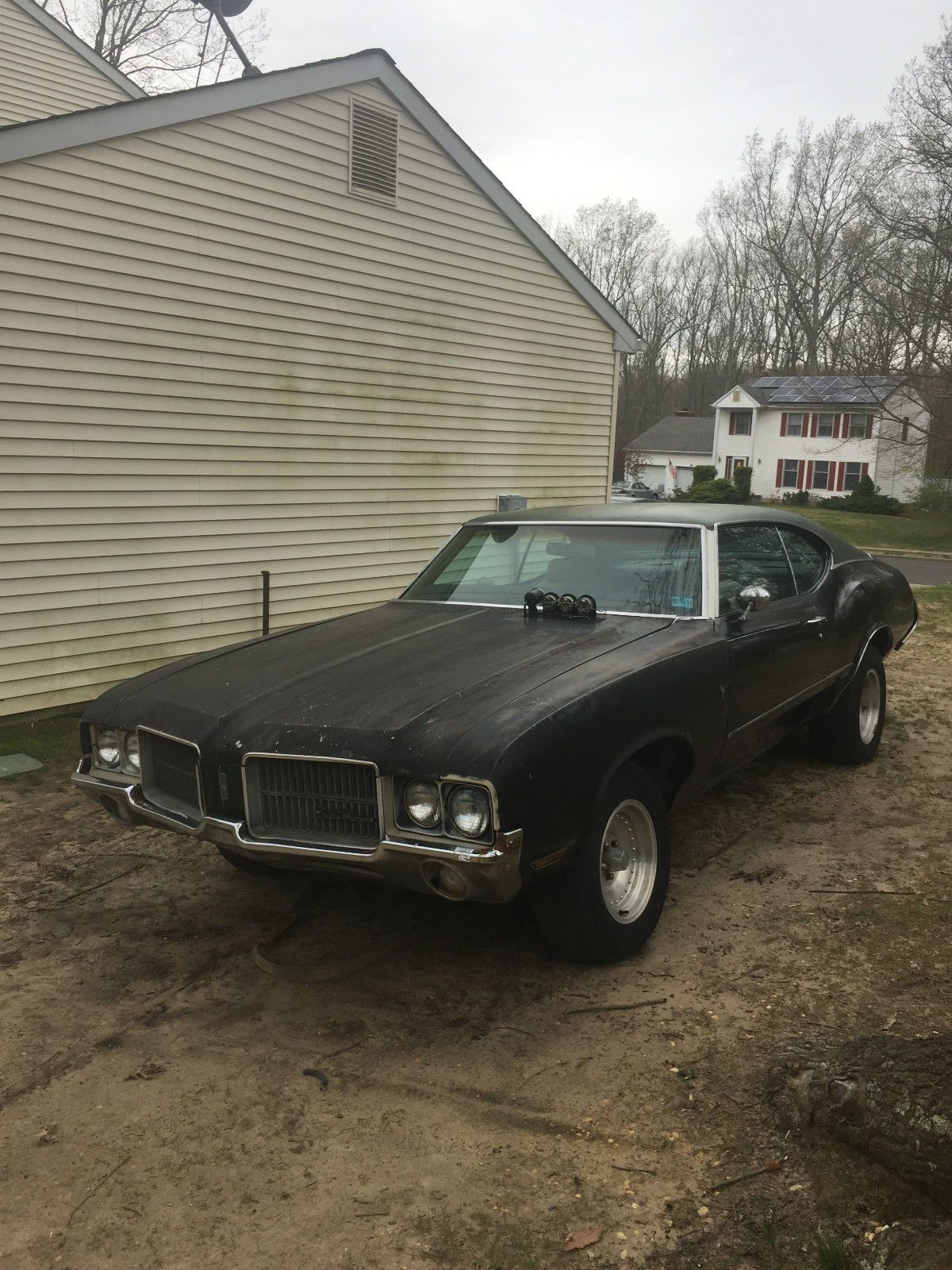 No engine and trans 1972 Oldsmobile Cutlass project | Project cars ...
