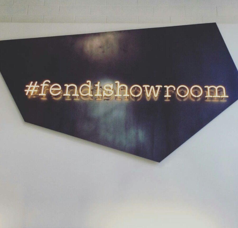 new style 07365 31c24 Fendi showroom : Milan, Via Solari, Italy. Fendi kids in ...